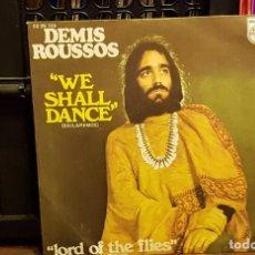 Discos de vinilo: DEMIS ROUSSOS - WE SHALL DANCE. Lote 222688718