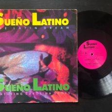 Discos de vinilo: SUEÑO LATINO FEATURING CAROLINA DAMAS. Lote 222688773