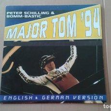 Discos de vinilo: PETER SCHILLING & BOMM-BASTIC – MAJOR TOM 94 (ENGLISH & GERMAN VERSION) MAXI SINGLE 1994 ED ESPAÑOL. Lote 222689697