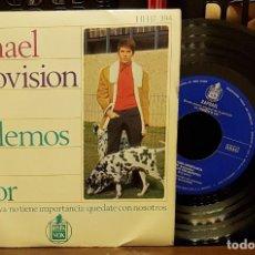 Discos de vinilo: RAPHAEL EUROVISION 67 - HABLEMOS DEL AMOR. Lote 222690292