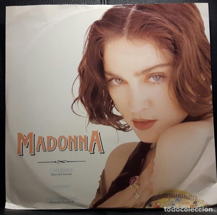 MADONNA - CHERISH - MAXISINGLE - REINO UNIDO - 1989 - NO USO CORREOS (Música - Discos de Vinilo - Maxi Singles - Pop - Rock - New Wave Extranjero de los 80)