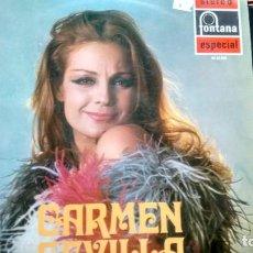 Discos de vinilo: LP (VINILO) DE CARMEN SEVILLA AÑOS 70. Lote 222691821