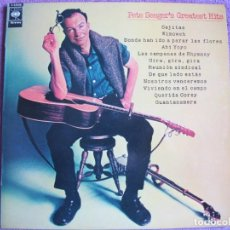 Discos de vinilo: LP - PETE SEEGER - GREATEST HITS (SPAIN, CBS 1973). Lote 222692405