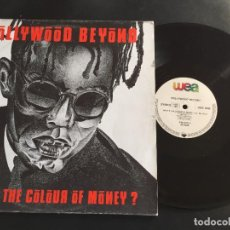 "Discos de vinilo: HOLLYWOOD BEYOND WHAT'S THE COLOUR OF MONEY - EXTENDED 12"" GERMANY. Lote 222695158"