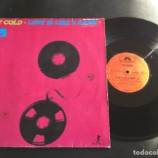 "Discos de vinilo: HOT COLD LOVE IS LIKE A GAME - EXTENDED 12"" GERMANY - ITALO DISCO. Lote 222695993"