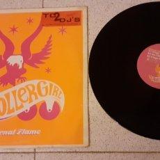 Discos de vinilo: ROLLERGIRL- ETERNAL FLAME - MAXI - GERMANY - UMIDL - LV -. Lote 222696438