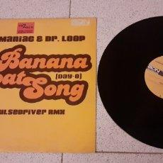 Discos de vinilo: RICK MANIAC & DR.LOOP - BANANA BOATSONG - MAXI - SPAIN -ADN PROGRESSIVE - LV -. Lote 222697112