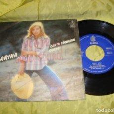Discos de vinilo: KARINA. CANTA CONMIGO / CURRO. HISPAVOX, 1976. SPAIN. Lote 222697485