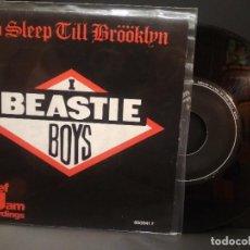 Discos de vinilo: BEASTIE BOYS NO SLEEP TILL BROOKLYN SIGLE SPAIN 1987 PDELUXE. Lote 222701141