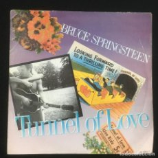 Discos de vinilo: TUNNEL OF LOVE-BRUCE SPRINSTEEN-SINGLE-DISCO DE VINILO-CBS 6512957-1987. Lote 222701285