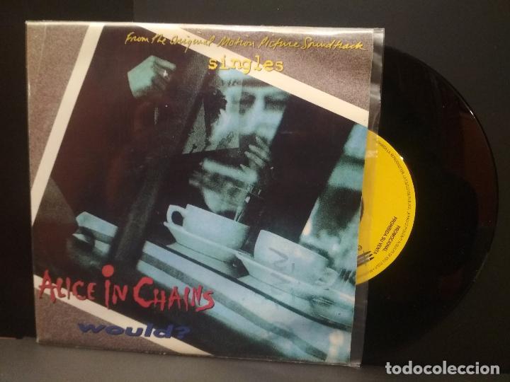 ALICE IN CHAINS WOULD SINGLE SPAIN 1992 PDELUXE (Música - Discos de Vinilo - Singles - Pop - Rock Extranjero de los 80)
