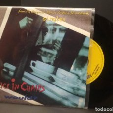 Discos de vinilo: ALICE IN CHAINS WOULD SINGLE SPAIN 1992 PDELUXE. Lote 222702503
