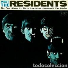 Discos de vinilo: THE RESIDENTS -MEET THE RESIDENTS. LP VINILO NUEVO. Lote 222703351