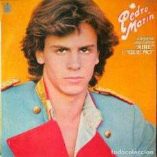 Discos de vinilo: PEDRO MARÍN - PEDRO MARIN - LP HISPAVOX 1980. Lote 222706842