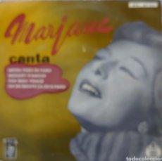 Discos de vinilo: MARJANE EP SELLO HISPAVOX AÑO 1958.... Lote 222707080
