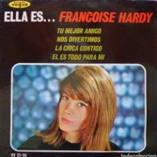 Discos de vinilo: FRANCOISE HARDY EP SELLO HISPAVOX AÑO 1963.... Lote 222707723