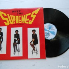 Discos de vinilo: THE SUPREMES – MEET THE SUPREMES = CONOZCA A THE SUPREMES LP ESPAÑOL 1983 NM/NM COMO NUEVO. Lote 222707927