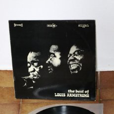 Discos de vinilo: LOUIS ARMSTRONG - THE BEST OF ARMSTRONG JAZZ - 1971? - ESPAÑA - VG+/VG+. Lote 222711772