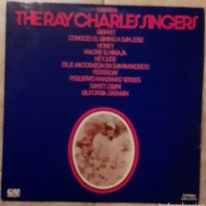 Discos de vinilo: CANTAN THE RAY CHARLES SINGERS LP.. Lote 222712133
