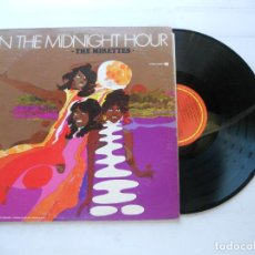 Discos de vinilo: THE MIRETTES ‎– IN THE MIDNIGHT HOUR LP USA 1968 EX/EX. Lote 222712648