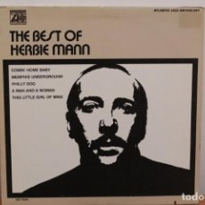 Discos de vinilo: HERBIE MANN - THE BEST OF HERBIE MANN JAZZ - USA - 1970 - VG+/VG+. Lote 222712697