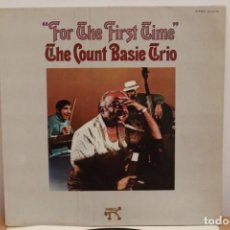 Discos de vinilo: THE COUNT BASIE TRIO - FOR THE FIRST TIME - PABLO TODAY - 1974 - ESPAÑA? - VG/G-. Lote 222714620