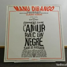 Discos de vinilo: VINILO LP. MANU DIBANGO, CLAUDE DUBOIS - ON VIT DE FEMMES. EDICIÓN FRANCESA. 33 RPM.. Lote 222715491