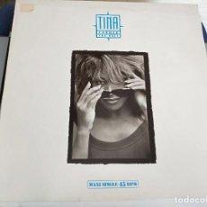 """Discos de vinilo: TINA TURNER - THE BEST (12"""", MAXI) SELLO:CAPITOL RECORDS CAT. Nº: 052-2034986. BUEN ESTADO. Lote 222715925"""