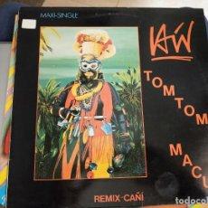 "Discos de vinilo: LAÍN - TOMTOM MACUS REMIX CAÑI (12"", MAXI) SELLO:VIRGIN CAT. Nº: F 608.259. VINILO NUEVO. Lote 222716718"