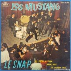 Discos de vinilo: EP / LOS MUSTANG /LE SNAP - LAS CHICAS SE CREEN... - MAYBE BABY - LA PALABRA FINAL/REGAL SEDL 19.390. Lote 222720432