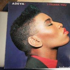 "Discos de vinilo: ADEVA - I THANK YOU (12"", MAXI) SELLO:CHRYSALIS CAT. Nº: 052 3234296. COMO NUEVO. Lote 222720743"