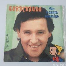Discos de vinilo: LP TORREBRUNO - VEN Y CANTA CONMIGO (ESPAÑA - DIRESA - 1973) RARO DIFICIL UNICO EN TC!!. Lote 222721577