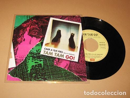 TAM TAM GO - CAER A TUS PIES (FALL AT YOUR FEET) - SINGLE - 1992 (Música - Discos - Singles Vinilo - Grupos Españoles de los 90 a la actualidad)