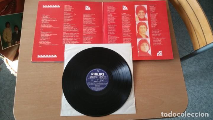 Discos de vinilo: 4 LP vinilo LOS CHICHOS BAILARAS CON ALEGRIA OJOS NEGROS RULETA Y AMOR DEJAME SOLO - Foto 3 - 222725928