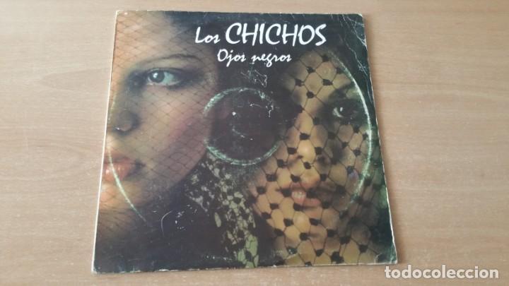 Discos de vinilo: 4 LP vinilo LOS CHICHOS BAILARAS CON ALEGRIA OJOS NEGROS RULETA Y AMOR DEJAME SOLO - Foto 8 - 222725928