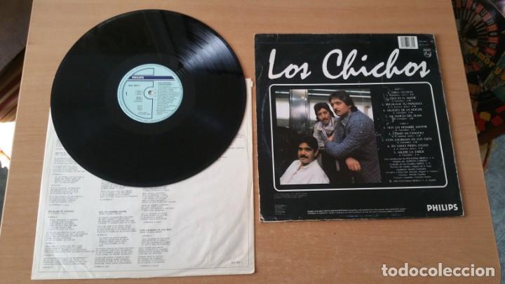 Discos de vinilo: 4 LP vinilo LOS CHICHOS BAILARAS CON ALEGRIA OJOS NEGROS RULETA Y AMOR DEJAME SOLO - Foto 9 - 222725928