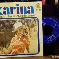 Discos de vinilo: KARINA - LA FIESTA. Lote 222735597
