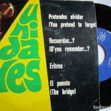 Discos de vinilo: UNIDADES EL PUENTE - DISCO DE 4 CANCIONES. Lote 222737401