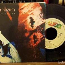 Discos de vinilo: ELLLA UNION - ELLA ES UN VOLCAN. Lote 222740797