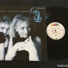 "Discos de vinilo: INGA & ANETE HUMPE ‎– CARELESS LOVE (EXTENDED VERSION) - 12"" GERMANY. Lote 222742398"