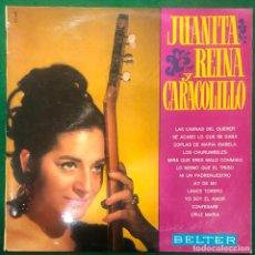 Discos de vinilo: JUANITA REINA Y CARACOLILLO / LP BELTER DE 1968 RF-8757. Lote 222742813