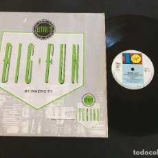 "Dischi in vinile: INNER CITY ‎– BIG FUN - 12"" GERMANY. Lote 222744267"