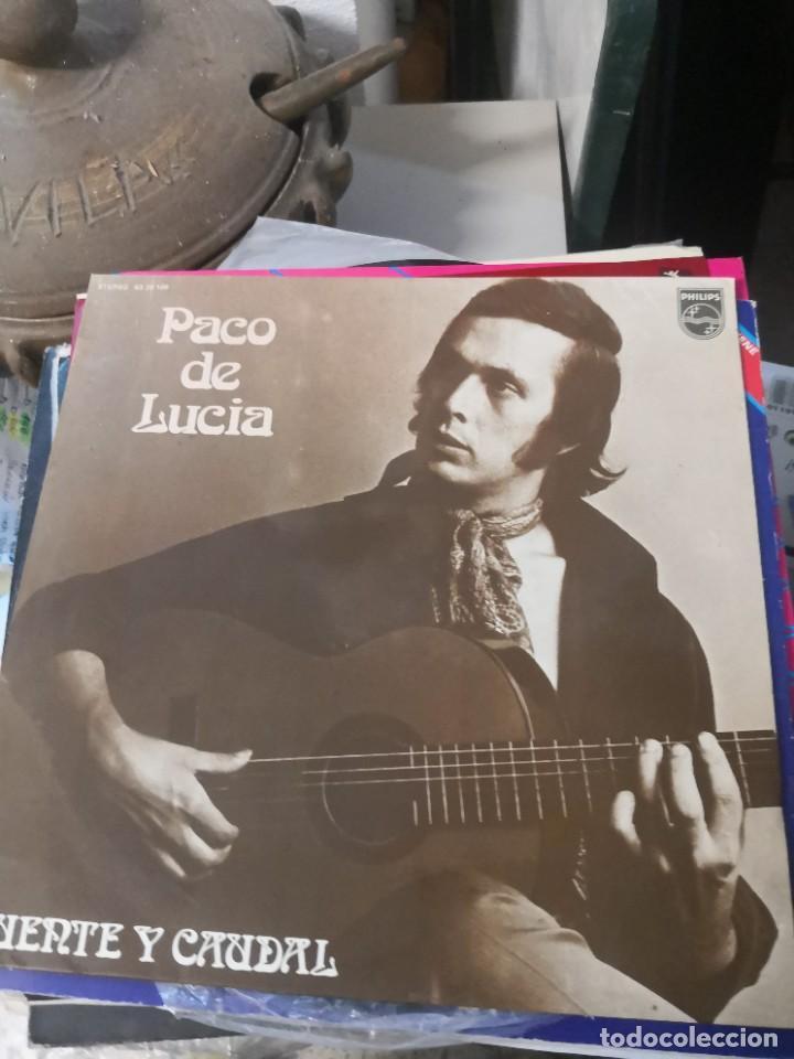 LP PACO DE LUCÍA FUENTE Y CAUDAL (Música - Discos - LP Vinilo - Flamenco, Canción española y Cuplé)