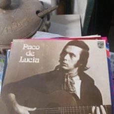 Discos de vinilo: LP PACO DE LUCÍA FUENTE Y CAUDAL. Lote 222744706