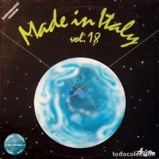 Discos de vinilo: MANASSA TRANSFER - MADE IN ITALY - VOL. 18 - TANTAVOGLIA DI... - ARISTON ARE/0030 - 1988 - ITALIA. Lote 222744941