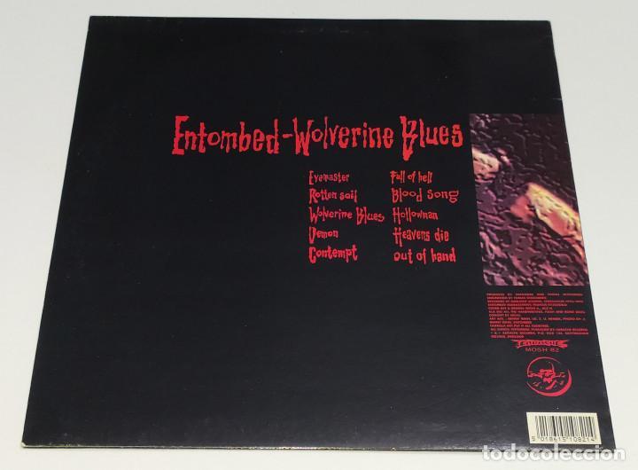 Discos de vinilo: LP ENTOMBED - WOLVERINE BLUES - Foto 2 - 126706627