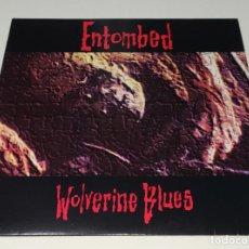 Discos de vinilo: LP ENTOMBED - WOLVERINE BLUES. Lote 126706627