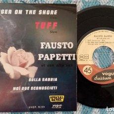 Discos de vinilo: SINGLE FAUSTO PAPETTI - TUFFSLOW - ¡ÚNICO ENVÍO A FINAL DE MES!. Lote 222749235