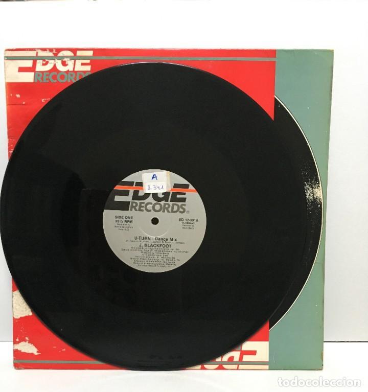 J. BLACKFOOT ?– U-TURN - 1986 (Música - Discos de Vinilo - Maxi Singles - Electrónica, Avantgarde y Experimental)