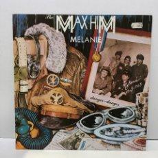Discos de vinilo: THE MAX HIM – MELANIE - 1986. Lote 222753390